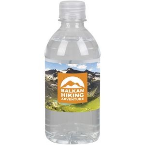 12oz Water Bottle Standard Label
