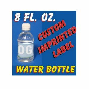 8 Oz Bottled Water